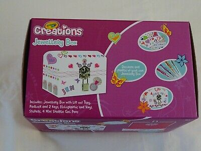 Crayola Craft Kit - Jewellery Box - Crayola Creaation