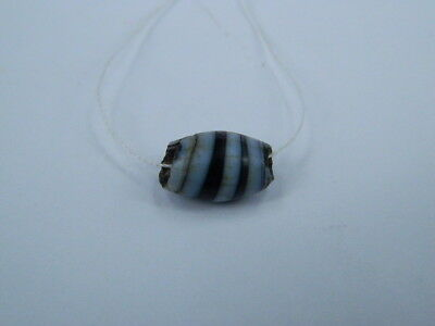 Ancient Glass Bead Islamic 1000 AD No Reserve #BE5059