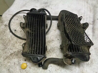Motorcycle Twin Rad Radiators Cooling Assy ?? Model Unknown