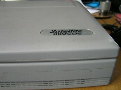 Toshiba Satellite 300 CDS   Vintage Laptop used Condition working