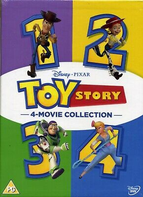Toy Story: 4-movie Collection - 4 Disc Boxset NEW/SEALED DVD set