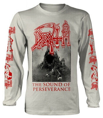 Death 'The Sound Of Perseverance' (Natural) LS Shirt - NEW
