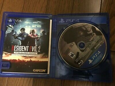 Resident Evil 2 Deluxe Edition PlayStation 4 2019 (open box, box damaged)