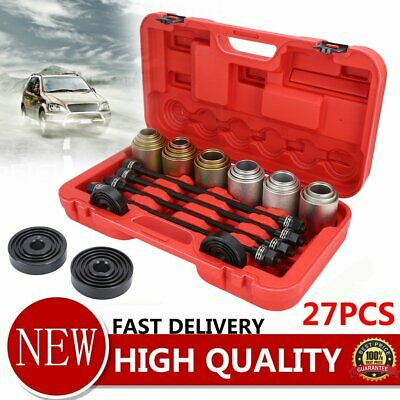27Pcs Press and Pull Sleeve Bush Removal and Installation Tool Kit Tools Set 0y