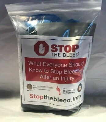 Stop The Bleed Kit,Bleeding Control,Tourniquet,Pressure Dressing,Wound Packing,