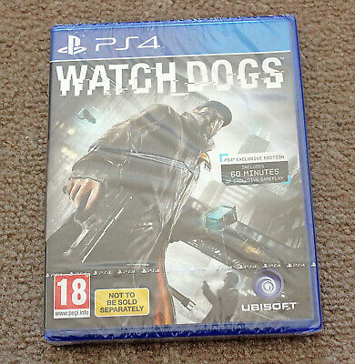 *Brand New + Sealed* Watch Dogs Sony Ps4 Playstation 4 Watchdogs