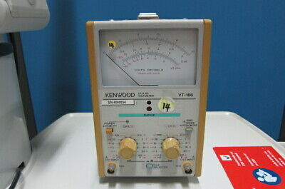 Kenwood VT-186 2-Channel AC Voltmeter, 0.3mV-100V