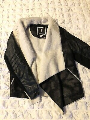 Girls River Island Faux Suede Jacket Age 8