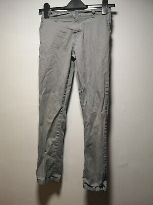 Blue Zoo Grey Cotton Trousers - Age 11 (069g)