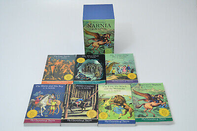 The Chronicles of Narnia 7 Vol Book Set Full-Color Collectors Edition C.S. Lewis