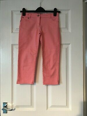 Mini Boden Girls Campri Shorts/trousers Age 10 Years Vgc Adjustable Waist