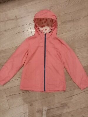 Next Pink Fleece Lined Jacket Age 9 10 years