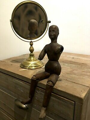 Antique Artist's Carved Wooden Lay Figure c1800s