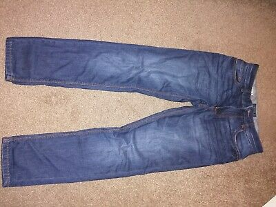 Boys Next Blue Skinny Jeans Age 13 Adjustable waist Excellent Condition