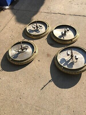 4 available price each antique cast brass chandelier body 19.5