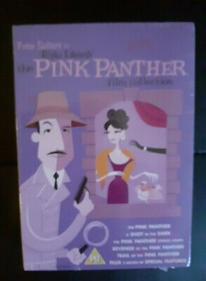 The Pink Panther Film Collection ( DVD, 2006, 6-Disc Set, Box Set )