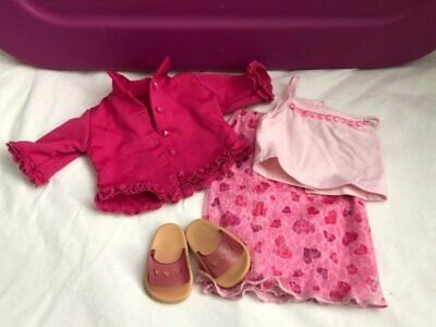 American Girl of TODAY Retired 2001 VALENTINE PARTY OUTFIT