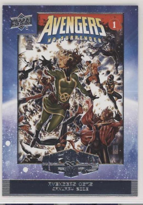 Upper Deck 2018-19 Marvel Annual Complete Comic Covers Insert Trading Card Set