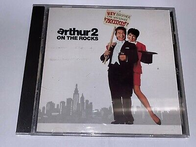 Arthur 2 On The Rocks movie soundtrack CD A&M Records 1988 DADC pressing USED