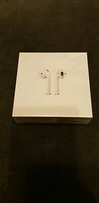 Apple AirPods with Wireless charging case 2nd generation New and Sealed