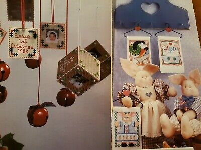 CHRISTMAS ORNAMENTS Counted Cross Stitch Pattern from Magazine  Photos Goose