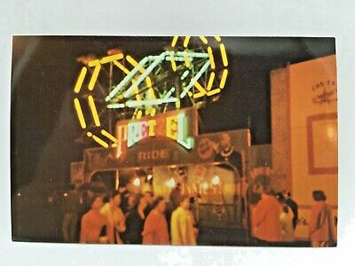 Postcard~York, Pa~York Interstate Fair~Double Ely-Wheel Thrill Ride~Unposted