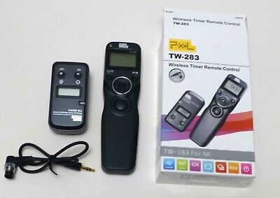 Pixel Tw-283 Dc0 Wireless Shutter Release Timer Remote Control For Nikon