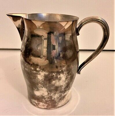 Vintage PAUL REVERE Reproduction Silverplate Water Pitcher Jug EXCELLENT Condit!