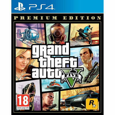 Grand Theft Auto 5 PS4 GTA V PS4 BRAND NEW SEALED  - Super Fast Delivery
