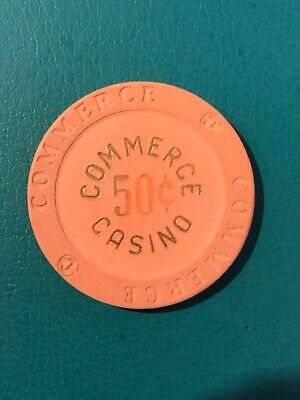 Commerce Card Room Casino Chip Commerce California