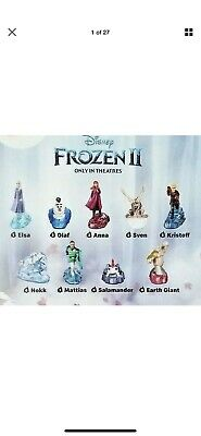 2019 Mcdonald's Frozen 2 Toys. Complete Set Of 9 Toys.