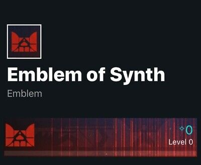 Emblem of Synth Destiny 2 Code Instant Delivery (Xbox, PS4, PC, Stadia)