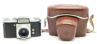 Very Clean Praktica FX3 35mm Camera With Meritar 50mm f2.9 Lens With Case #30697