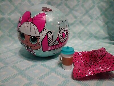 LOL Surprise Series 1 Lil MC Swag, Roller Sk8ter Doll Baby New Gold Ball Sealed