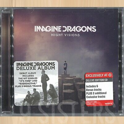 +7 BONUS TRACKS---> IMAGINE DRAGONS Night Visions TARGET CD I Don't Mind    0114