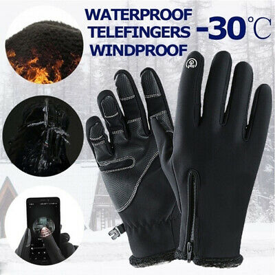Winter Thermal Ski Gloves Touch Screen Warm Waterproof Windproof Outdoor Sports