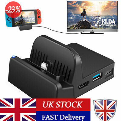 Mini Charging Stand Switch Docking Station Charging Dock for Nintendo Switch UK