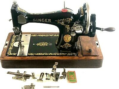 Vintage Singer 28K Hand Crank Sewing Machine c1927 - FREE Delivery [5673]