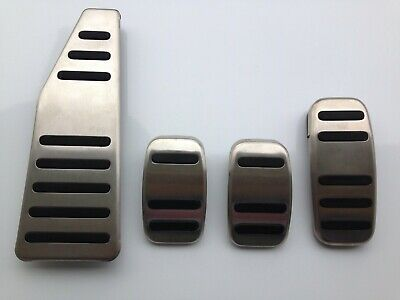 New Genuine Fiat 500 Abarth 4 Pcs Set Manual Transmission Pedals Cover LHD