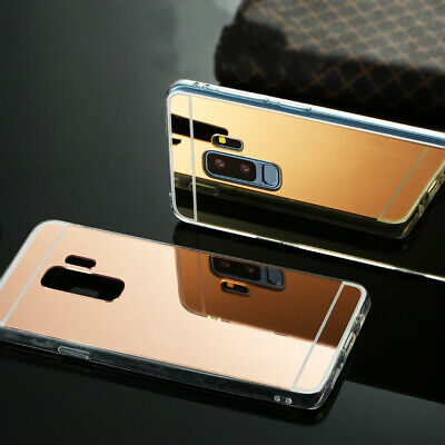 Luxury Plating Mirror TPU Back Phone Case Cover for Samsung Galaxy S8 S9 S10 Pro