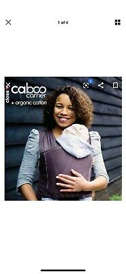 Close caboo baby carrier +cotton Blend Grey Charcoal