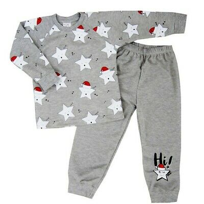 Baby Girls/Boys Pyjamas Pjs set 100% COTTON from 12-18 up to 6-7 Years