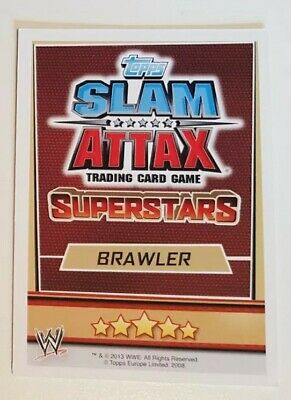 WWE Slam Attax: Superstars Trading Card Singles (Topps 2013) Buy 5 get 10 Free!
