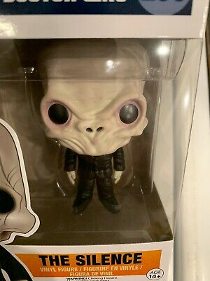 NEW Funko Pop! TV Doctor Who The Silence Vinyl Action Figure