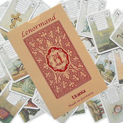Lenormand Urania JMC Red Owl Tarot deck Fortune Telling cards Esoteric AGM NEW