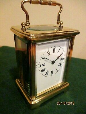Superb Little French Carriage Clock circa. 1890s.