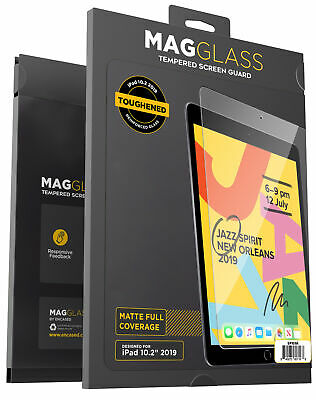 iPad 7th Generation Matte Screen Protector Anti Glare Tempered Glass 10.2 2019