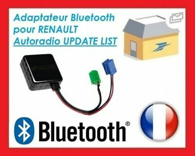 Cable Premium Bluetooth Auxiliaire Mp3 Autoradios D'origine Renault Update List