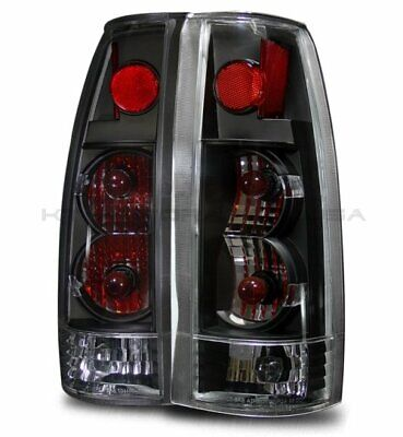 For 88-98 C/K Full Size/Tahoe/92-94 Blazer/99-00 Escalade Bk Altezza Tail Lights