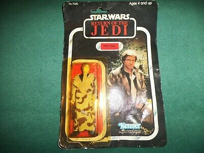 Star Wars RETURN OF THE JEDI action figure Han Solo no.71300 on card